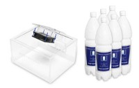 PortaSan® Vitalstand V3 (transparent) inkl. 9l PortaMarin®-Inhaliersole (3-Monats-Pack)