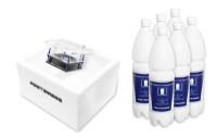 PortaSan® Vitalstand V3 (opal white) inkl. 9l PortaMarin®-Inhaliersole (3-Monats-Pack)